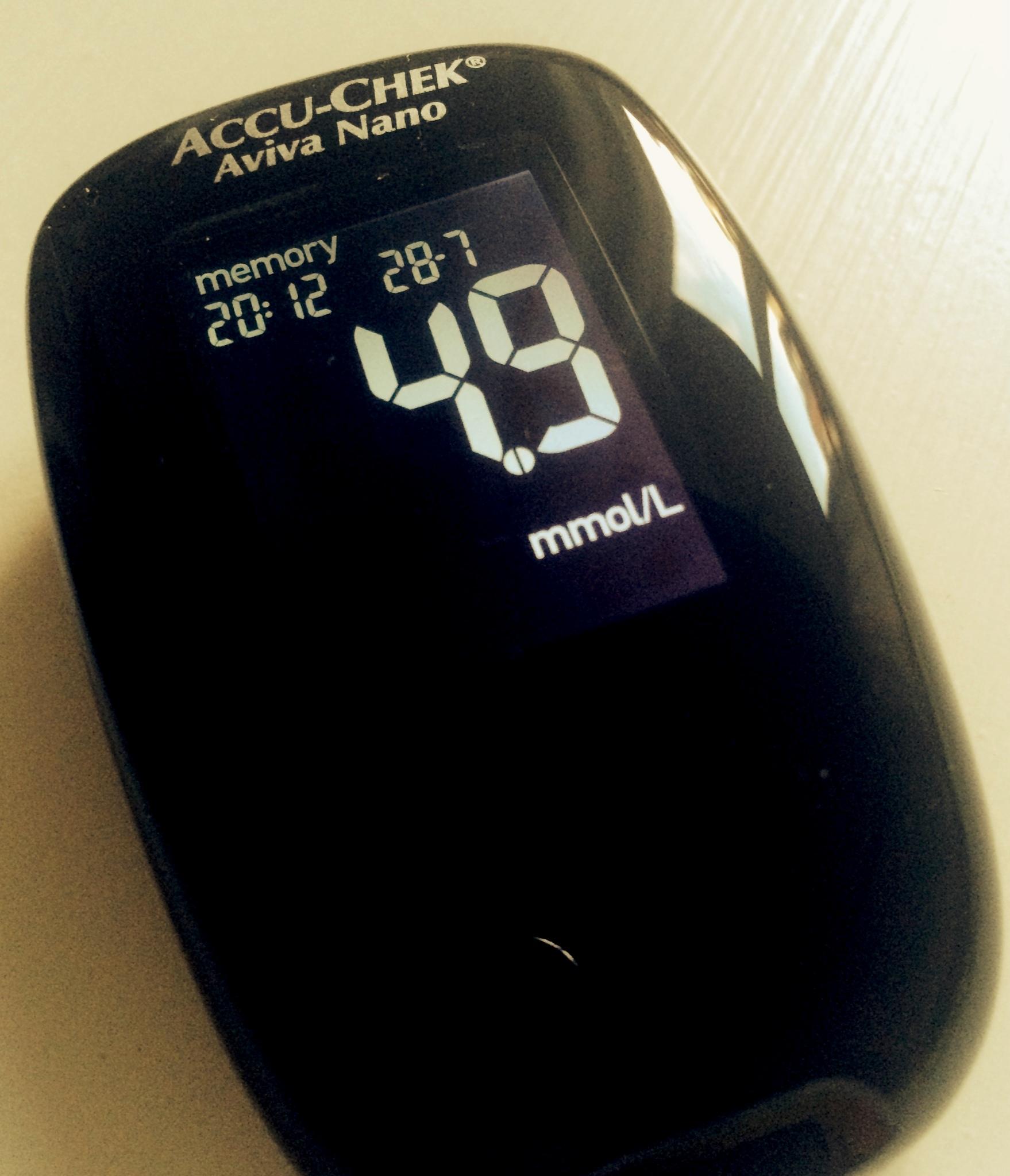 blodsockermätning efter måltid